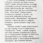 Mariusz Olbromski - o Józefie Furgała